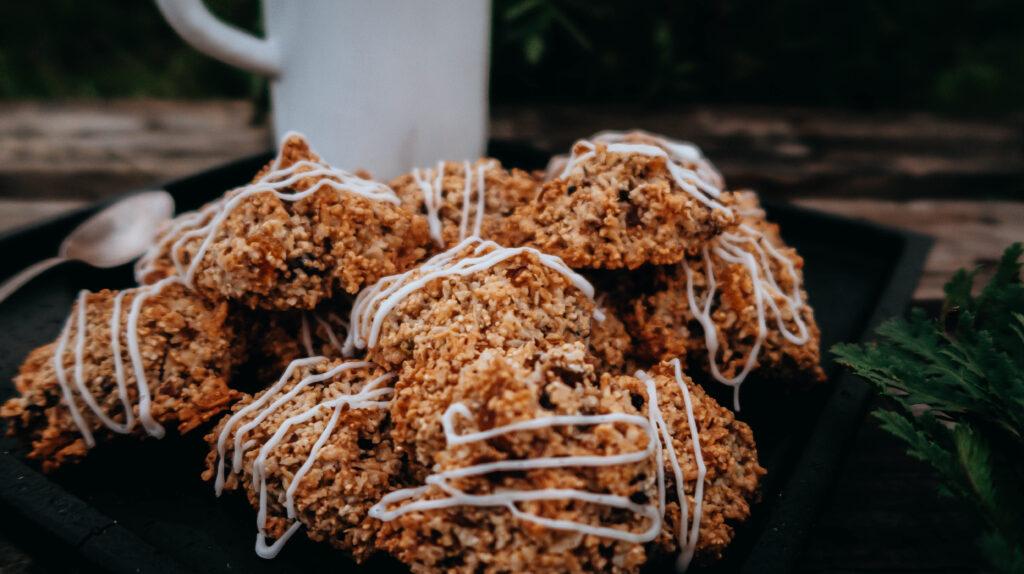 Rezept für Makronen, Kokosmakronen, Amarantmakronen