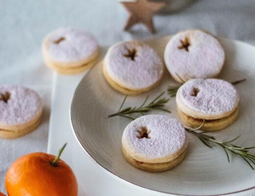 Rezept Cassis-Plätzchen Weihnachten Linzer